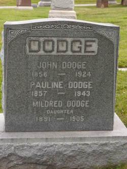 Pauline <I>Karpinski</I> Dodge