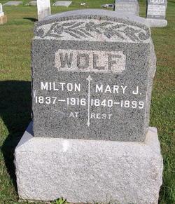 Mary Jane <I>Wade</I> Wolf