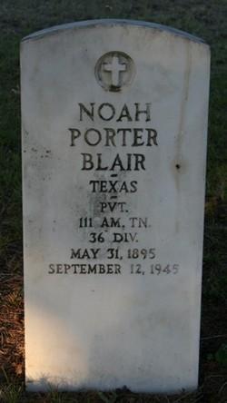 Noah Porter Blair