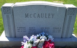 F. Leonard McCauley, Sr