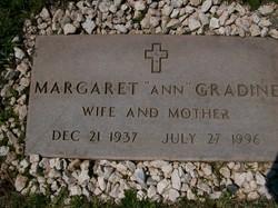 Maragaret Ann <I>Finch</I> Gradine