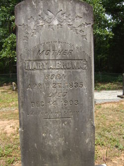 Mary A. <I>Tittle</I> Brown
