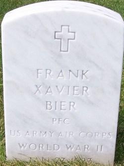 Frank Xavier Bier