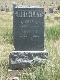 "Isabella Frances ""Belle"" <I>Williams</I> Beckley"