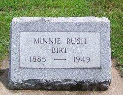 Minnie Pearl <I>Rush</I> Birt