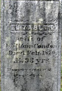 Elizabeth <I>McMillan</I> Condon