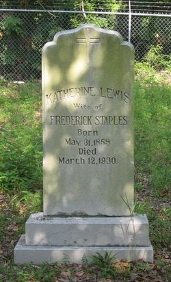 Katherine Laura <I>Lewis</I> Staples