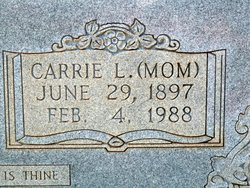 "Carrie Leigh ""Mom"" <I>Harris</I> Hensley"