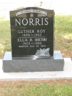 Ella B <I>Rector</I> Norris