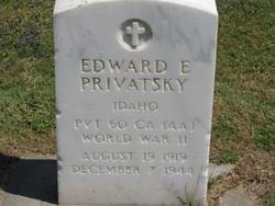 Edward E. Privatsky