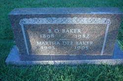 Bunk Oliver Baker, Sr
