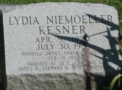 Lydia Ruth <I>Niemoeller</I> Kesner