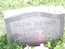 Deliah Eleanor Lunsford