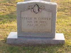 Verlie <I>Harris</I> Cooper