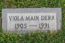 Viola Elizabeth <I>Main</I> Derr