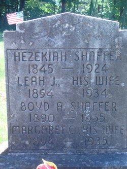Leah J Shaffer