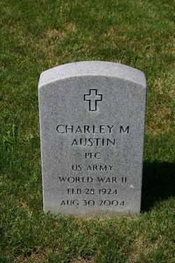 PFC Charley M Austin