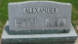 Walter Sheron Alexander