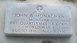 Pvt John B. Monaghan