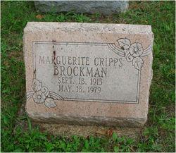 Marguerite <I>Cripps</I> Brockman