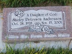 Shirley <I>Petersen</I> Andreasen