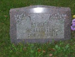 Byrd Beatrice <I>O'Morrow</I> McAllister