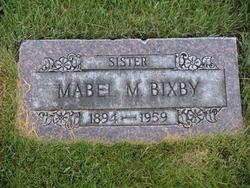 Mabel Marie <I>Malone</I> Bixby