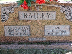 Ozie <I>Brown</I> Bailey