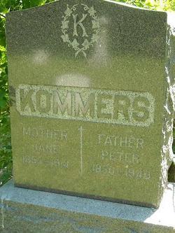 Jane <I>Lammers</I> Kommers