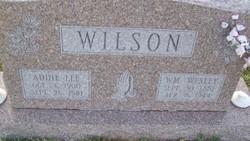 Addie Lee <I>Thomas</I> Wilson