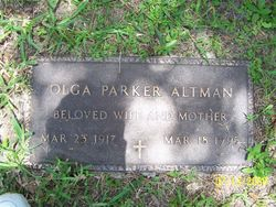 Emmajane Olga <I>Parker</I> Altman