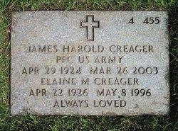 Elaine Margaret <I>Hogan</I> Creager