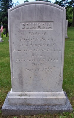 Columbia <I>Rawson</I> Parris