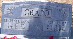 "Clarence Ezra ""Ez"" Crapo"