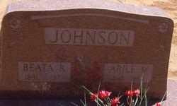 Beata Angeline <I>Keele</I> Johnson