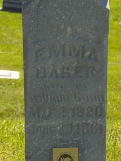 Emma <I>Baker</I> Gunn