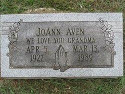 JoAnn <I>Sanders</I> Aven