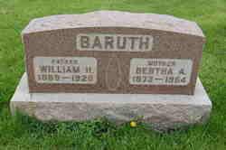 Bertha A Baruth