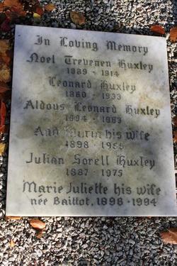 Marie Juliette <I>Baittot</I> Huxley