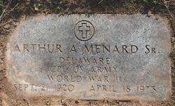 Arthur Adelaid Menard, Sr