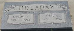 Lorraine F. <I>Johnson</I> Holaday