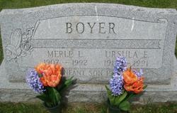 "Merle Levi ""Bill"" Boyer"