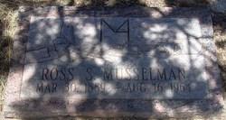 Ross Stinard Musselman