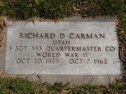 Richard Densmore Carman