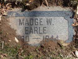 Madge <I>Westerfield</I> Earle