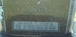 Allen Raymond Adee