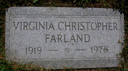 Virginia Maye <I>Christopher</I> Farland