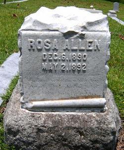 Rosa Allen