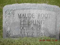 Maude <I>Root</I> Herring