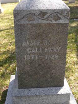 Alice R Callaway